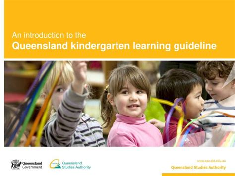 ppt an introduction to the queensland kindergarten 865 | an introduction to the queensland kindergarten learning guideline n