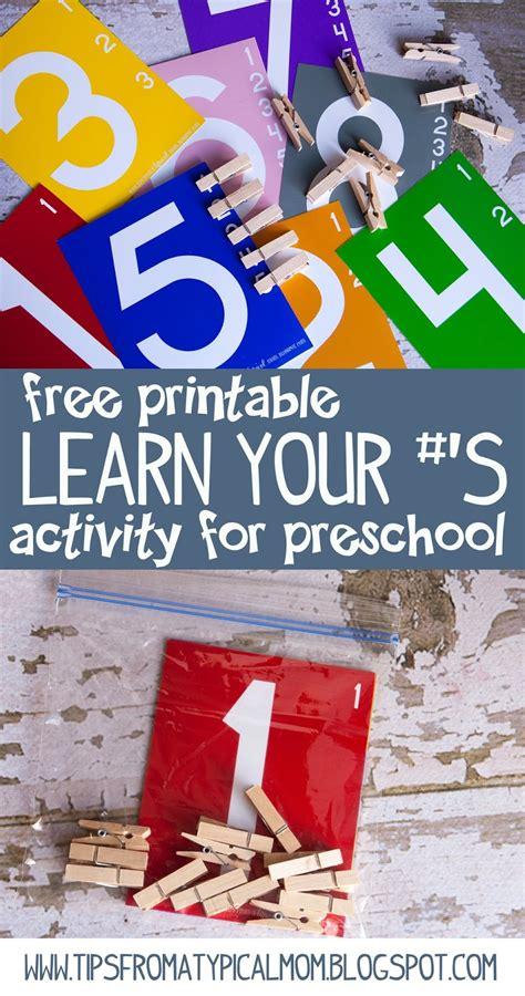 teach kids numbers  printable activity preschoolkindergarten tips   typical mom