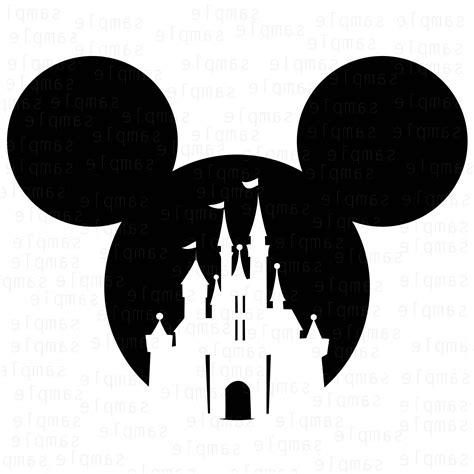 Mickey Castle Disney Svg Mickey Castle