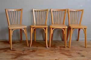 Chaises bistrot baumann l39atelier belle lurette for Deco cuisine avec chaise de salon cuir