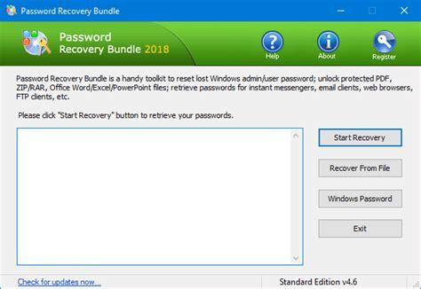 recover passwords  vnc remote desktop connection