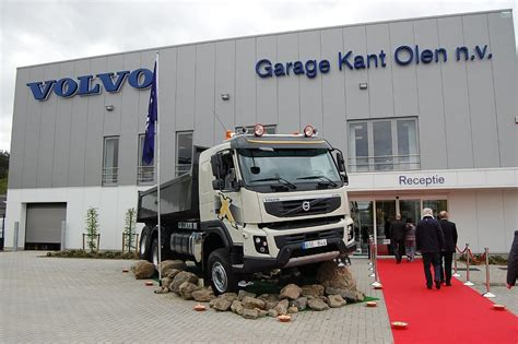 volvo trucks opens  dealership  belgium autoevolution