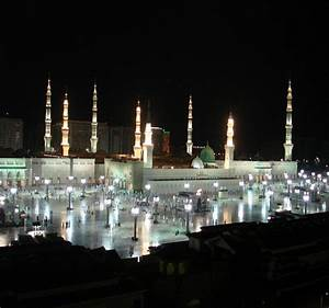 Masjid E Nabvi In Night | www.pixshark.com - Images ...