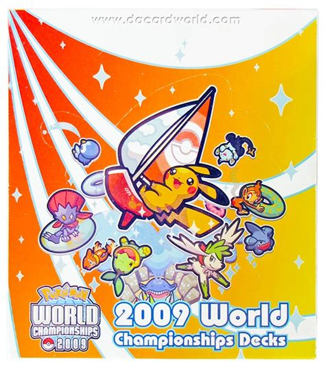 World Chionship Decks 2007 by 2009 World Chionship Deck Box Da Card World