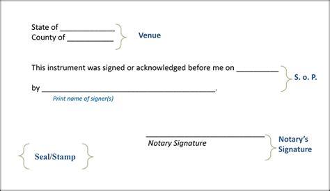 notary signature block template montana notary handbook