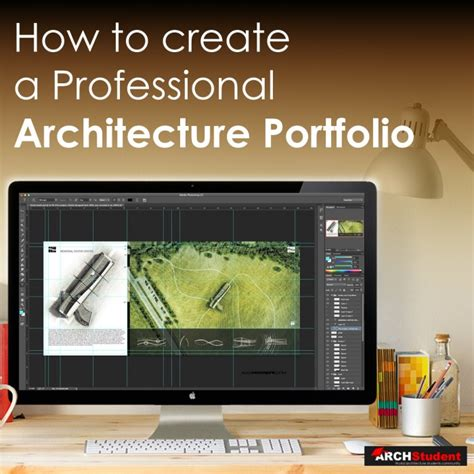How to create an Architecture Portfolio Photoshop