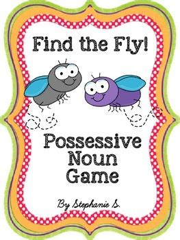 This pack also features a possessive noun flip book. Possessive Nouns Game by Kindershenanigans | Teachers Pay ...