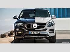 BMW X6 vs Mercedes GLE Coupe Front Comparison #1