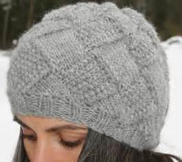 Knit Hat Pattern Knitting