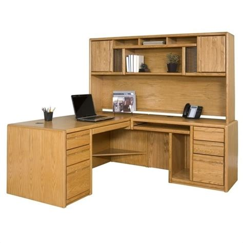 l shaped oak computer desk martin furniture cont rhf l shape home office set medium