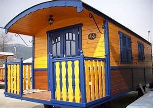 Wohnwagen Anbau Aus Holz : wohnanh nger als gartenhaus ohne baugenehmigung zirkuswagen ~ Markanthonyermac.com Haus und Dekorationen