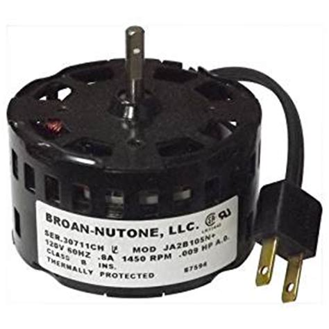 nutone replacement fan motor for 671r 87594000