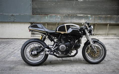 Ducati Cafe Racer Motorcycle Hd Wallpaper