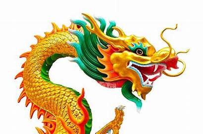 Dragon Chinese Drawing Sculpture Isolated Ancient Drawings