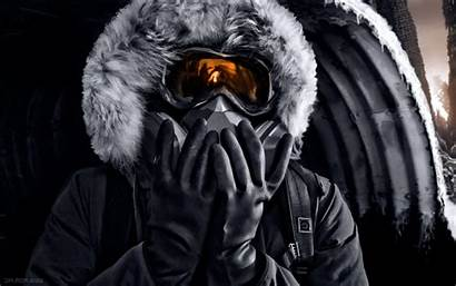 Gas Winter Wallpapers Masks Apocalyptic Romantically Mask