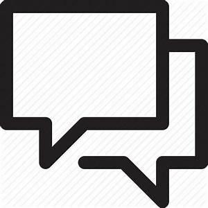 Chat bubble, communication, conversation, talk, talking icon