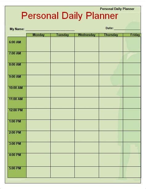 Weekly Planner Template Free Weekly Planner Templates Free Printables Word Excel