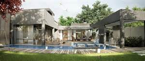 of images floor houses modern one floor house with pool interior design ideas