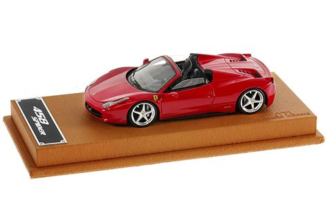 toy ferrari 458 1 43 scale ferrari 458 spider model with real leather