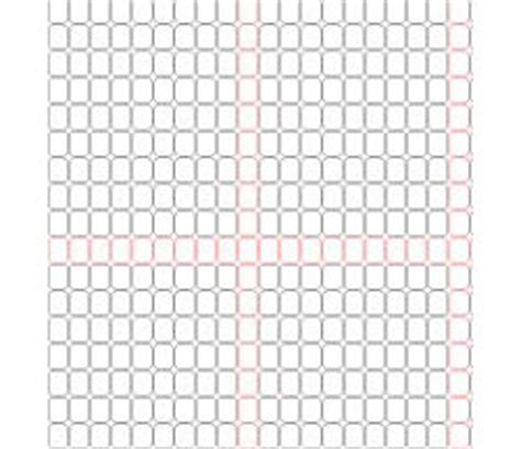 graph paper tubular peyote needle case cover