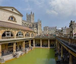 File Roman Baths In Bath Spa  England