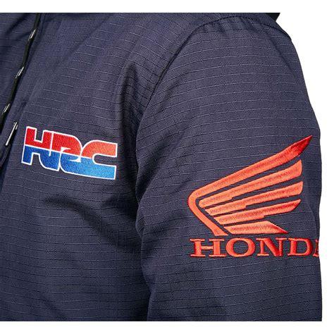 fox racing hrc honda gariboldi roosted jacket navy
