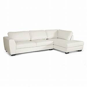 Baxton studio orlando 2 piece right arm facing faux for Leather sectional sofa orlando