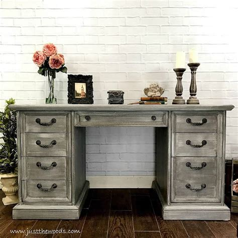 the best gray paint colors for your painted furniture
