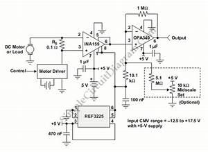 Current Sensor  U2013 Simple Circuit Diagram