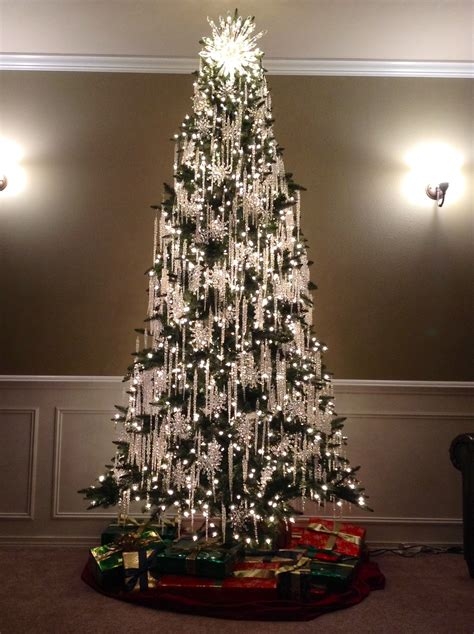 Ideas Decorating White Tree by Beautiful Tree Decorations Ideas