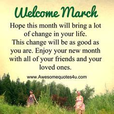 17 Welcome March Images and Quotes ideas | march quotes ...