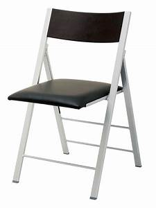 Chaise Pliante Noire : chaise pliante confortable noir cantras ~ Teatrodelosmanantiales.com Idées de Décoration
