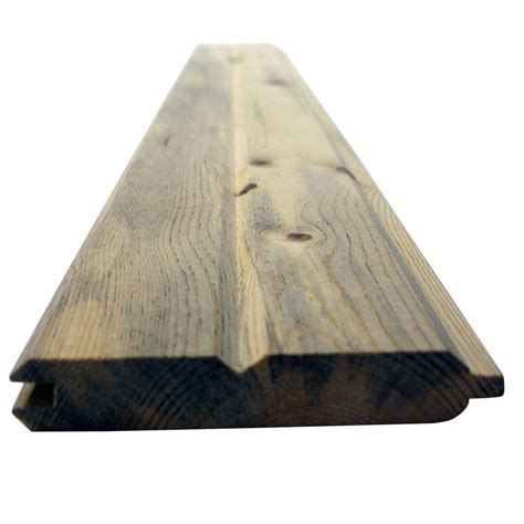 ft    blue stain wp tongue  groove pine board