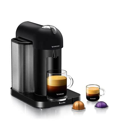 The vertuo next premium coffee/espresso maker from nespresso features centrifusion technology to brew fresh coffee and espresso with only one button. Amazon.com: Nespresso Vertuo Coffee and Espresso Machine by Breville, Black: Kitchen & Dining
