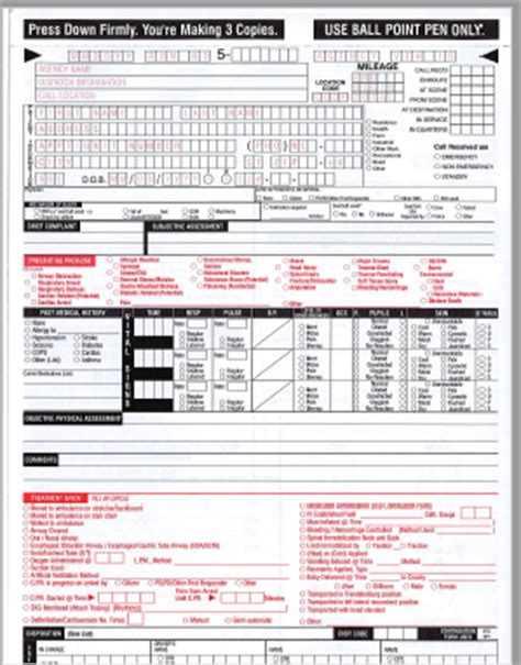 bureau pcr prehospital care reports emstar org