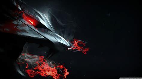 Dark Red Desktop Wallpaper Fire Dragon Wallpaper Hd Downloadwallpaper Org