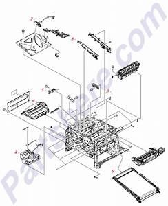 Cc493-67914 Hp Laser  Scanner Assembly -