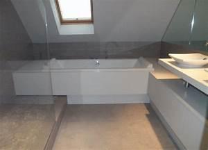 Rénovation Salle De Bain : salle de bain perigueux un crin de bien tre archithemeco ~ Premium-room.com Idées de Décoration