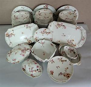 Service Vaisselle Porcelaine : photo service de table ancien porcelaine vaisselle maison ~ Teatrodelosmanantiales.com Idées de Décoration