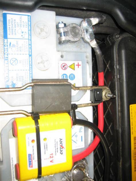 surge protector battery installed slk kb views