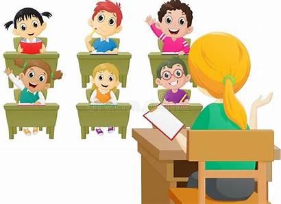 Class Lesson Teacher Elementary Classe Profesor Scuola