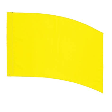 color guard practice flags curved rectangle pcs practice flag yellow color