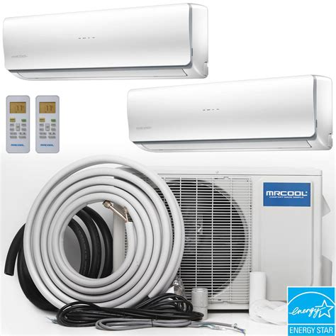 How To Install A Mitsubishi Ductless Air Conditioner by Mrcool Olympus 27000 Btu Ductless Mini Split Air