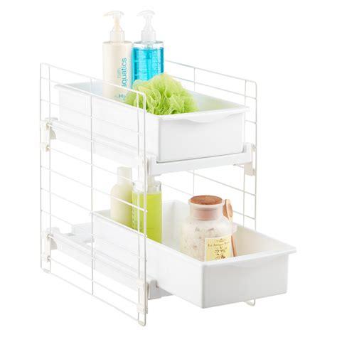 bathroom sink top organizer under sink organizers bathroom cabinet storage