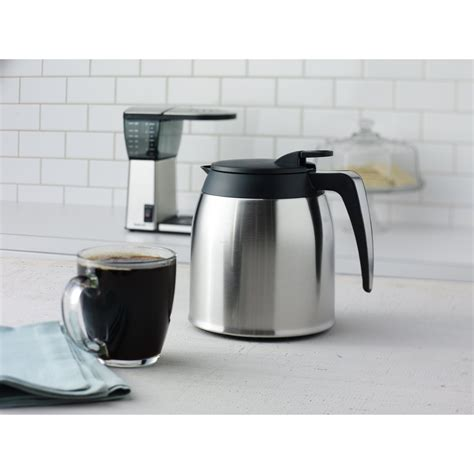 It produces coffee with the original taste. Bonavita 8 Cup Pour Over Coffee Maker with Stainless Steel Lined Carafe & Reviews | Wayfair