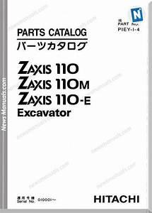 Hitachi Zx110 Set Parts Catalog