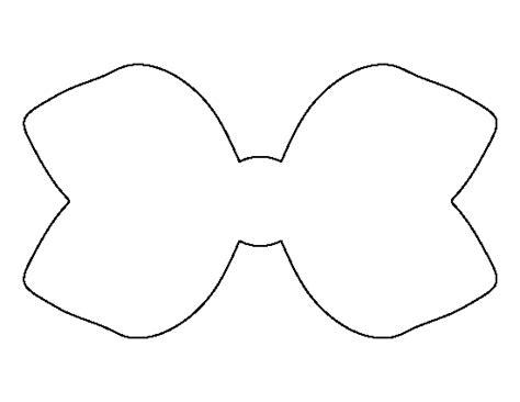 hair bow template printable hair bow template