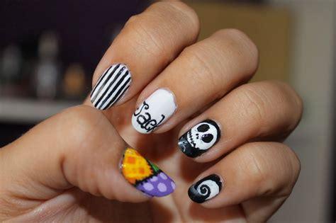 Los 20 mejores diseños para uñas degradadas. unas-de-halloween-una-pesadilla-antes-de-navidad ⋆ Diseños de uñas decoradas