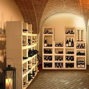 cave a vin maison table de cuisine With amenagement cave a vin maison