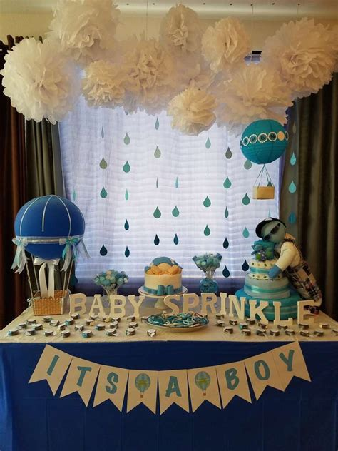 Baby Shower Theme For by Heaven Sent Baby Shower Ideas Boy Baby Shower